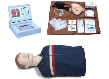 高级全自动电脑半身心肺复苏模拟人