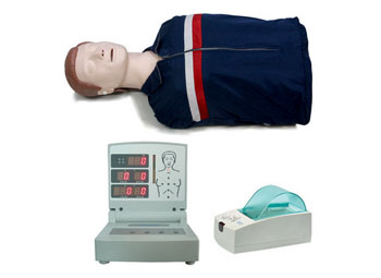 高级电脑半身心肺复苏模拟人(带打印)
