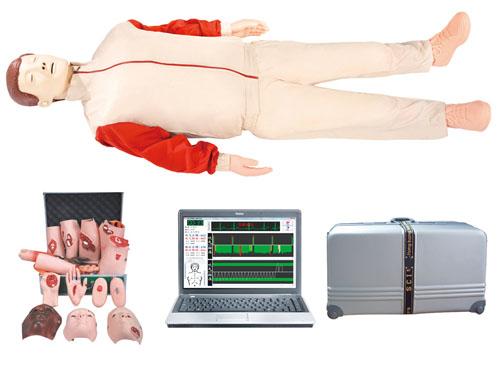 电脑综合急救心肺复苏模拟人(心肺复苏、创伤)