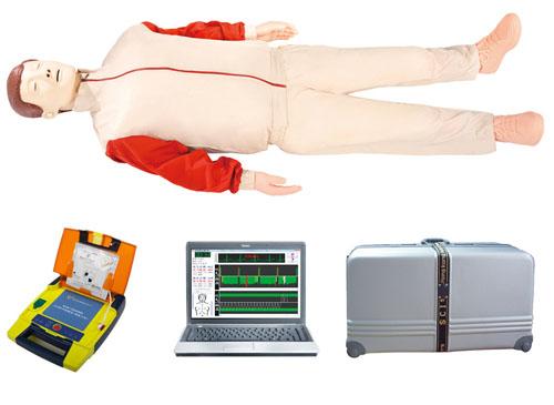 电脑综合急救心肺复苏模拟人(心肺复苏、AED除颤)