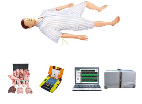 电脑综合急救心肺复苏模拟人(心肺复苏、创伤、AED除颤、基础护理)