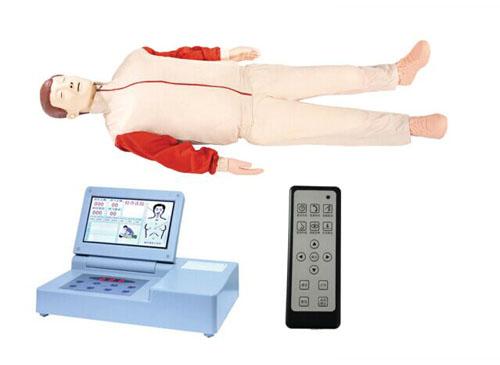 大屏幕液晶彩显高级电脑心肺复苏模型(带遥控器)