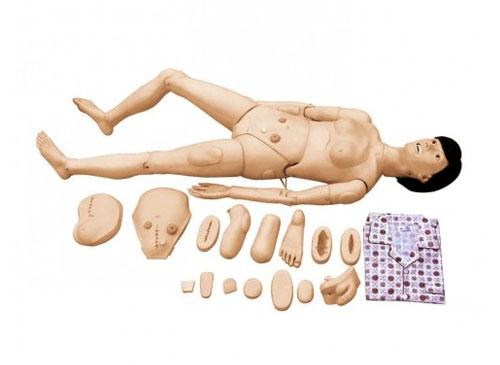 高级全功能护理模拟人(女性)