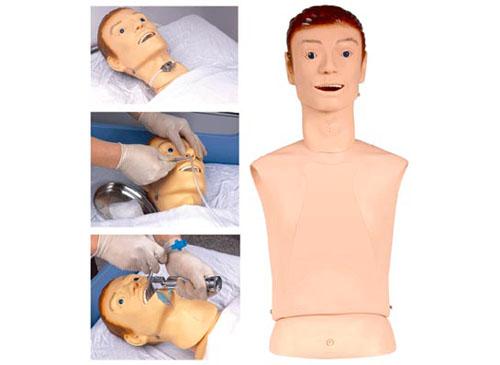 鼻饲模型,高级鼻饲管与气管护理模型