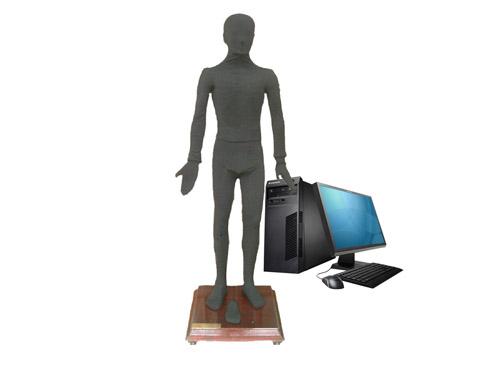 多媒体按摩点穴电子人体模型