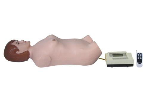 数字遥控式全自动腹部触诊听诊模拟人