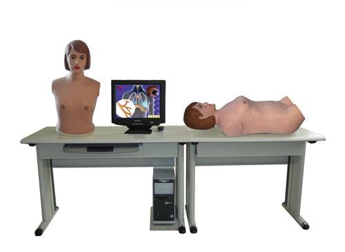 智能型网络多媒体胸腹部检查综合教学系统(学生机)