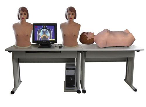 网络多媒体胸腹部检查综合教学系统