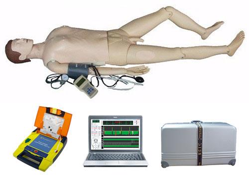 电脑综合急救心肺复苏模拟人(心肺复苏、血压测量、AED除颤、基础护理)