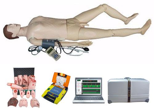 电脑综合急救心肺复苏模拟人(心肺复苏、血压测量、创伤、AED除颤、基础护理)