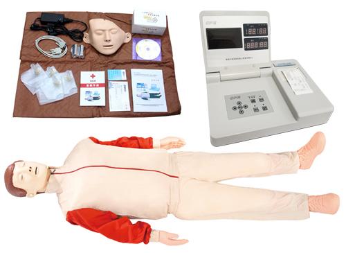 液晶彩显高级电脑心肺复苏模型