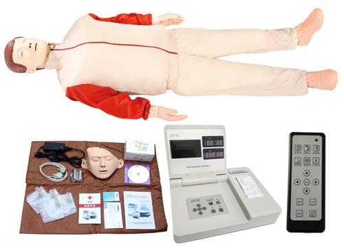 液晶彩显高级电脑心肺复苏模型(带遥控器)