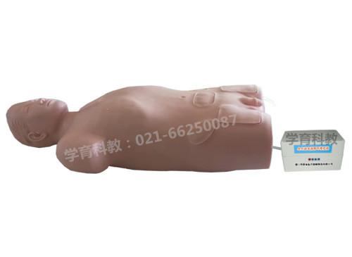 腹腔与股静脉穿刺电动模型