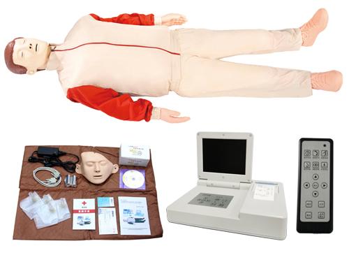 大屏幕液晶彩显高级电脑心肺复苏模拟人(无线版)