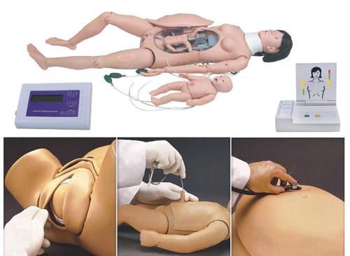 分娩与母子急救模型,高级分娩与母子急救模拟人